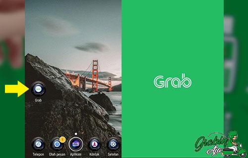 Bukalah Aplikasi Grab