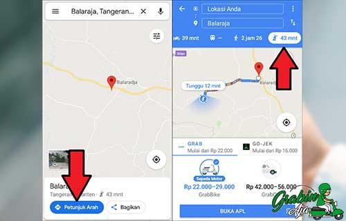 Maps Petunjuk Arah