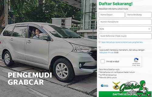 Cara Daftar Grab Car Online
