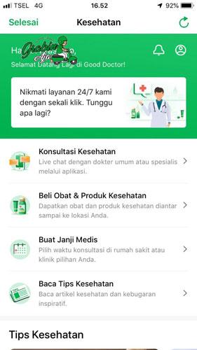 Cara Menggunakan Aplikasi Grab Health