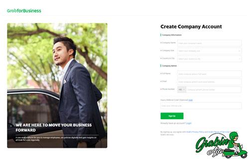 Cara Daftar Akun Grab For Business Terbaru