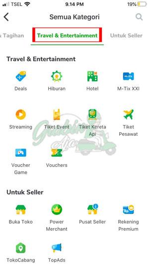Pilih Travel Entertainment