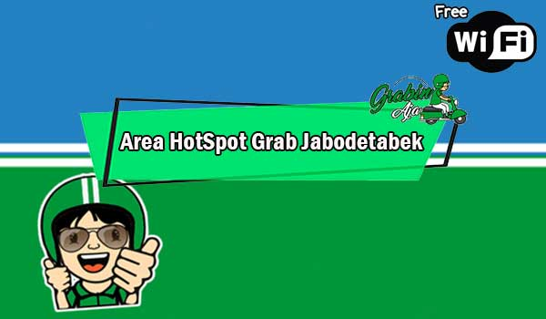 Area HotSpot Grab Jabodetabek