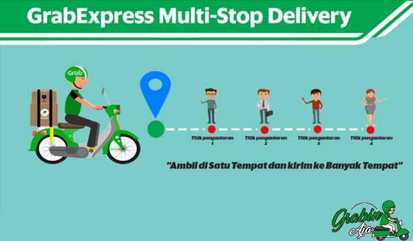 Cara Daftar Grab Express Multi Stop