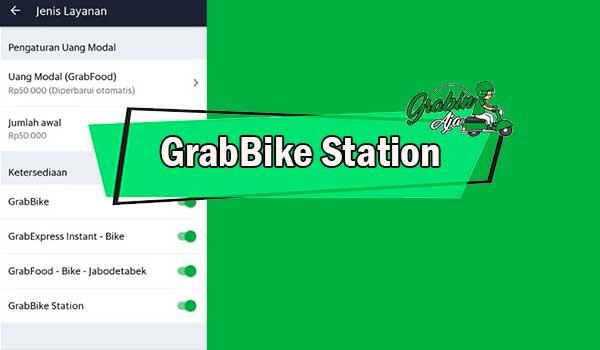 GrabBike Station
