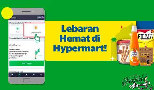 Cara Mendapatkan Paket Lebaran Grab Hypermart