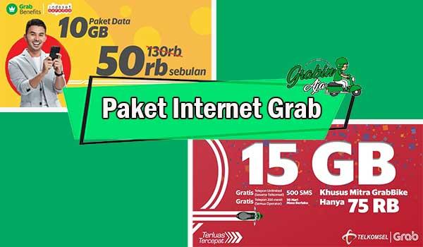 Paket Internet Grab