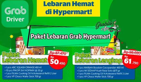 Paket Lebaran Grab Hypermart