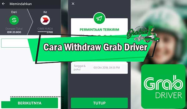 Cara Withdraw Grab Driver