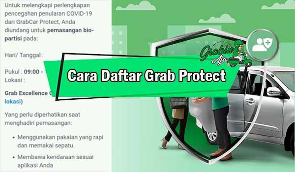 Cara Daftar Grab Protect