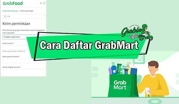 Cara Daftar GrabMart