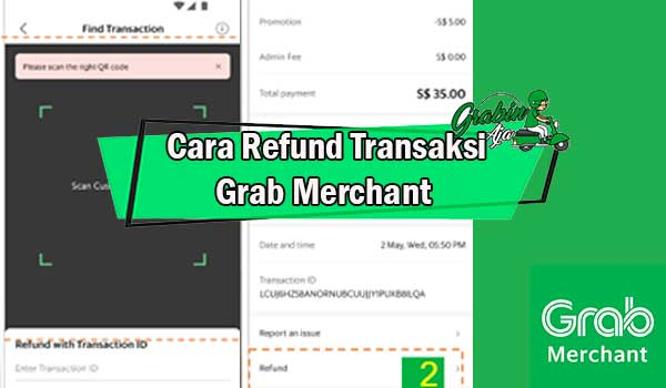 Cara Refund Transaksi Grab Merchant