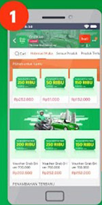 Top Up Grab Driver Lazada