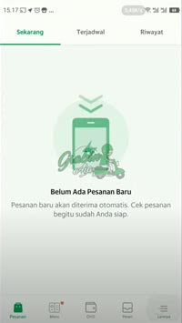 Buka Aplikasi GrabMerchant