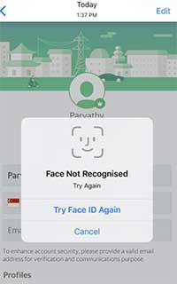 Cara Login Menggunakan Face ID di Grab