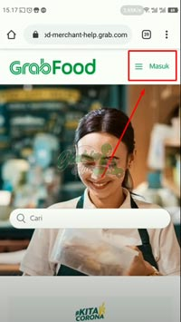 Login Akun Grabfood Merchant