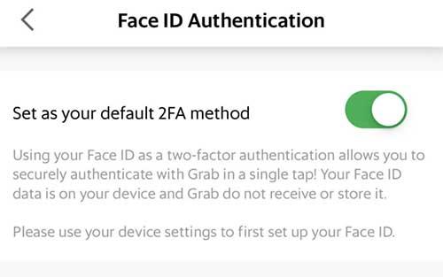 Mengaktifkan Face ID di iPhone