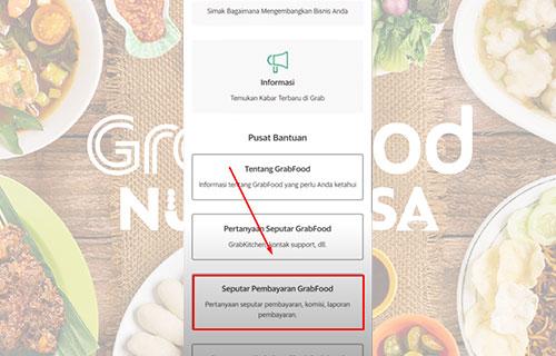 Seputar Pembayaran Grabfood