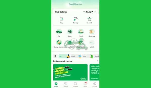 1 Buka Aplikasi Grab 4