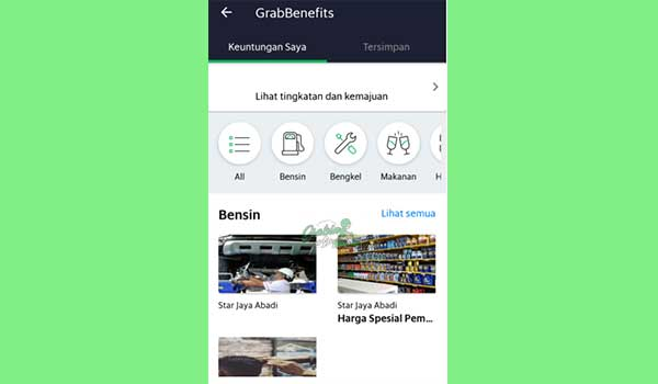Keuntungan Program GrabBenefits