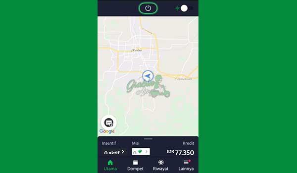1 Buka Aplikasi Grab Driver 2