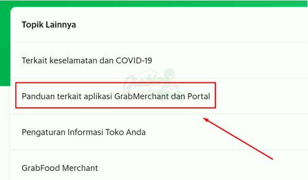 5 Klik Panduan Terkait Aplikasi GrabMerchant dan Portal