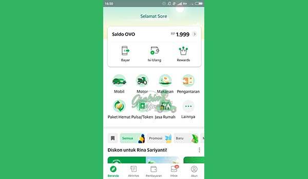 6 Buka Kembali Aplikasi Grab
