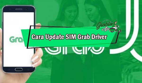 Cara Update SIM Grab Driver