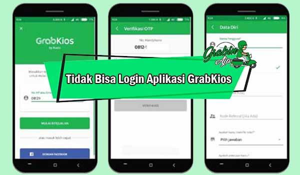Tidak Bisa Login Aplikasi GrabKios