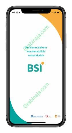 1 Buka Aplikasi BSI Mobile