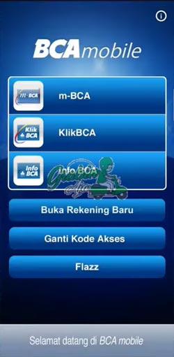 1 Buka Aplikasi m Banking BCA