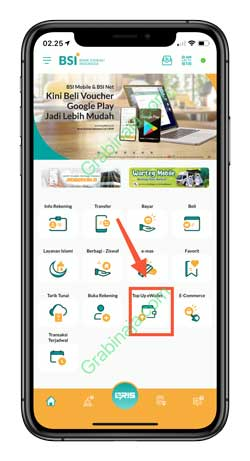 2 Pilih Top Up eWallet