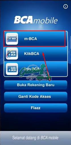 2 Pilih m BCA