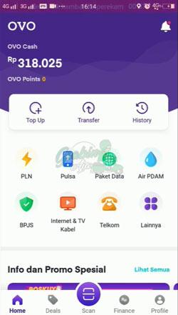 6 Buka Aplikasi OVO 1