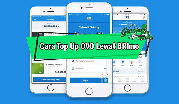 Cara Top Up OVO Lewat BRImo