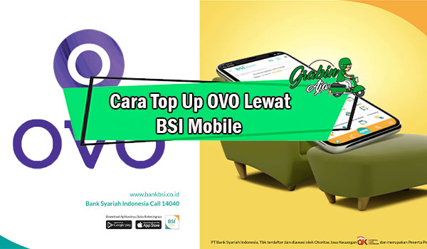 Cara Top Up OVO Lewat BSI Mobile