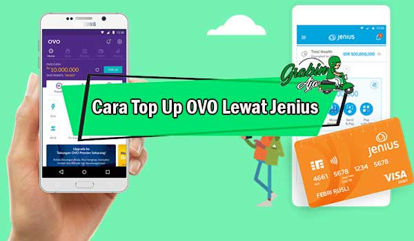 Cara Top Up OVO Lewat Jenius