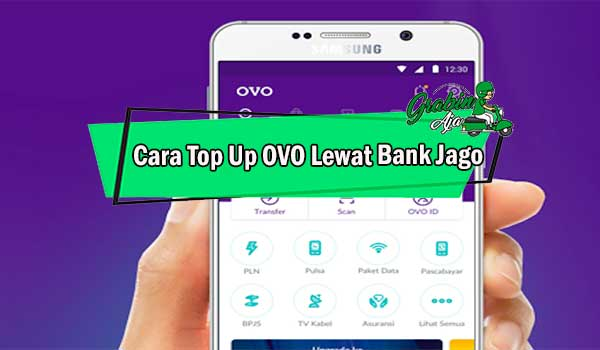 Cara Top Up OVO Lewat Bank Jago