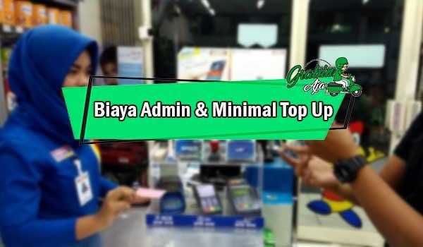 Biaya Admin Minimal Top Up