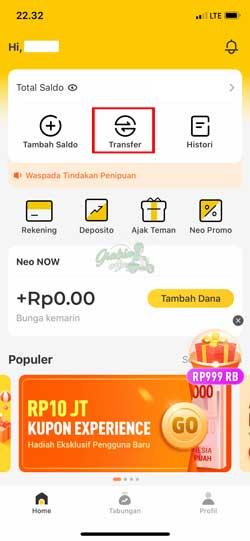 Buka Aplikasi Neo 2
