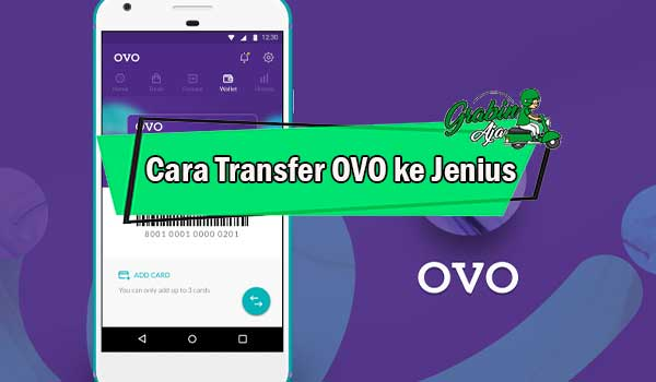 Cara Transfer OVO ke Jenius