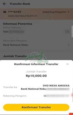 Konfirmasi Transfer 2