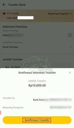 Konfirmasi Transfer 3