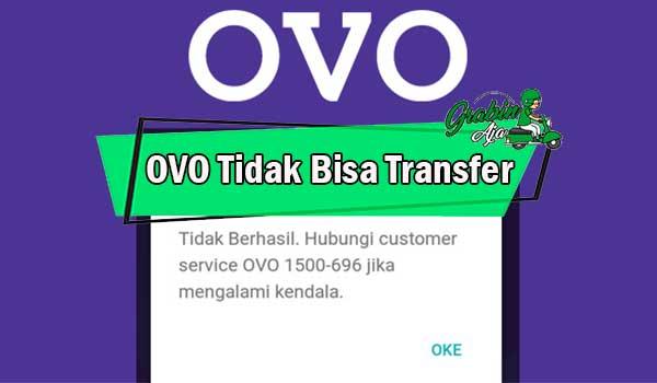 OVO Tidak Bisa Transfer