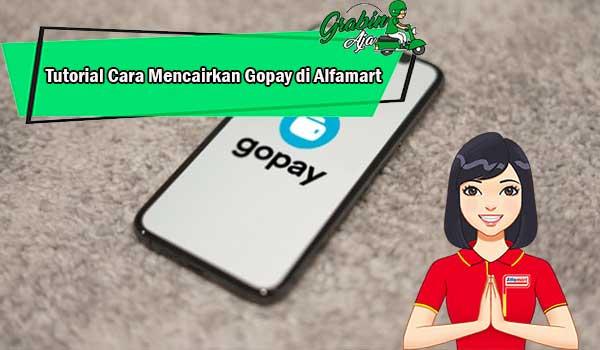 Tutorial Cara Mencairkan Gopay di Alfamart 1