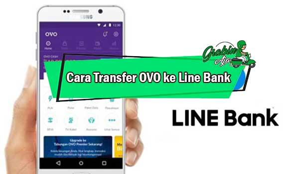 Cara Transfer OVO ke Line Bank