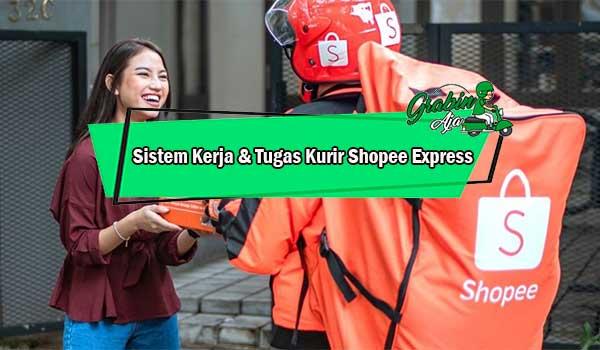 Sistem Kerja Tugas Kurir Shopee Express