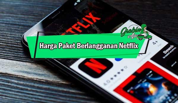 Harga Paket Berlangganan Netflix