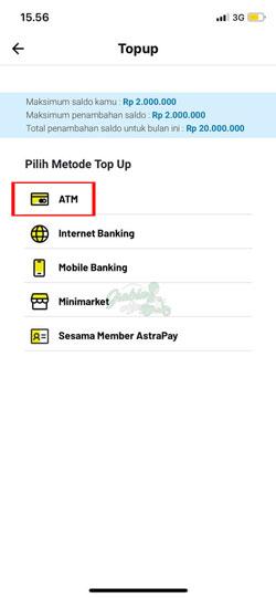 Pilih ATM